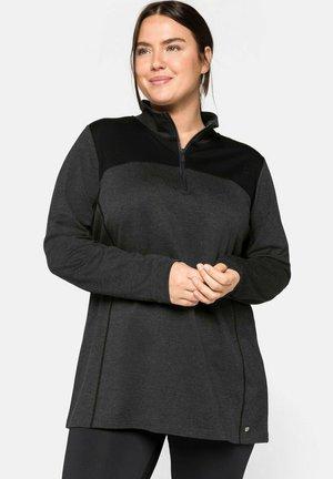 Sudadera - grau-schwarz