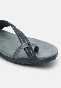 Merrell - TERRAN CONVERT II - T-bar sandals - slate/black - 5