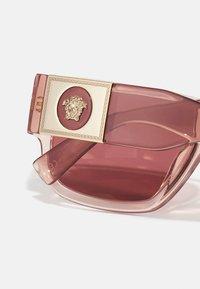Versace - UNISEX - Sunglasses - transparent pink - 4