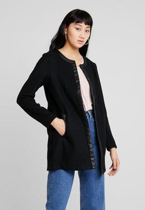 ONLADELINA ADELE BONDED COATIGAN - Short coat - black