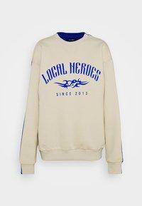 Local Heroes - TRIBAL - Sweatshirt - beige/blue - 0