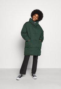 Monki - VALERIE JACKET - Winter coat - green dark olive - 0