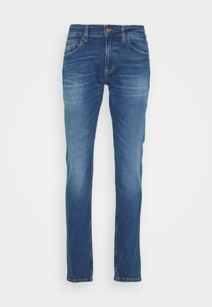 SCANTON - Slim fit jeans - bright blue