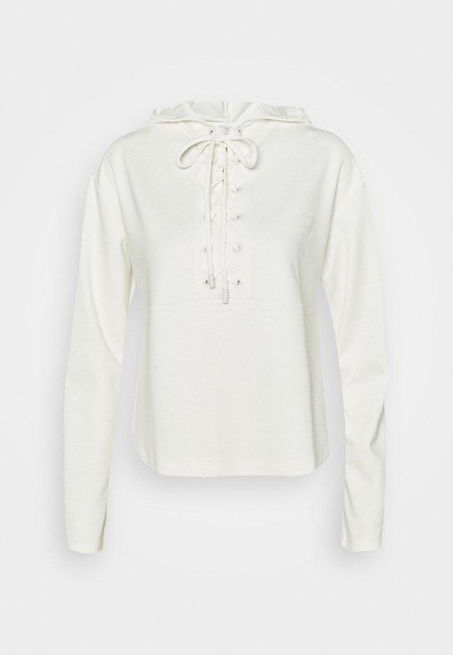 Bluza z kapturem - offwhite