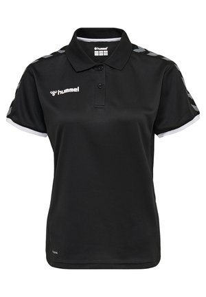 HMLAUTHENTIC FUNCTIONAL  - Polo shirt - black/white