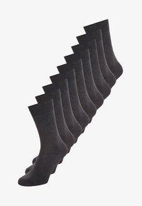 ONLINE SOCKS 9 PACK UNISEX - Ponožky - anthracite melange