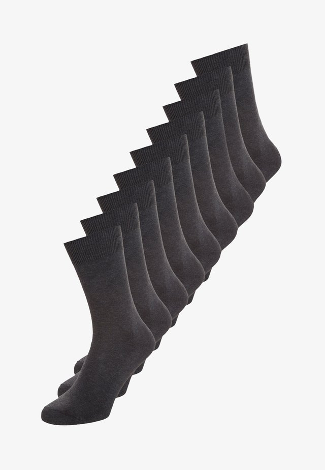 9 PACK - Calcetines - anthracite melange