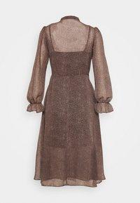 New Look Petite - MINI ANIMAL MIDI DRESS - Day dress - brown pattern - 1