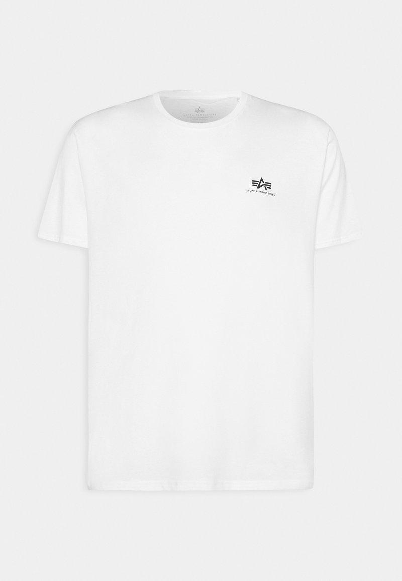 Alpha Industries - BACK PRINT - Print T-shirt - white
