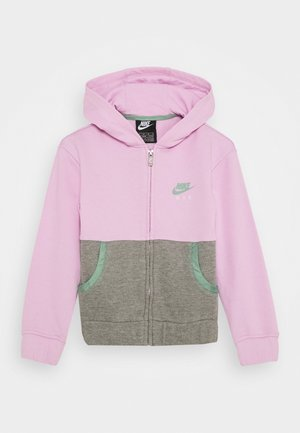 AIR - veste en sweat zippée - arctic pink