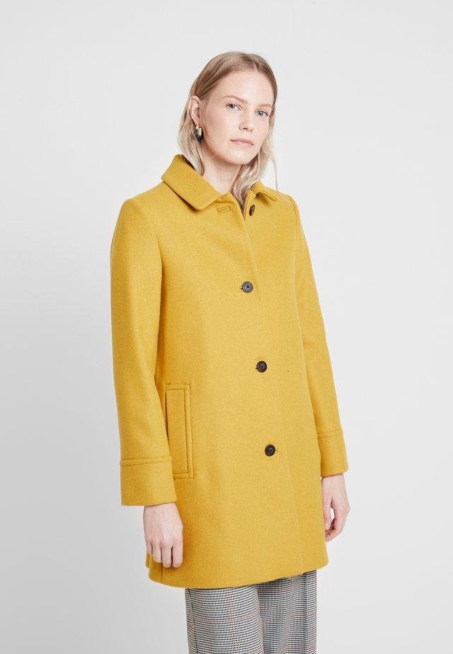FIA COAT - Halflange jas - honey yellow