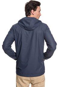 Quiksilver - KAMAKURA RAINS - Waterproof jacket - blue nights - 1