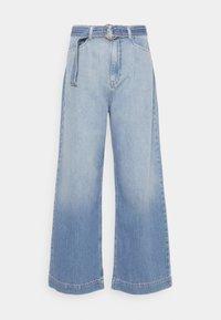 Nümph - NUCAROLINA - Flared Jeans - kight blue denim - 0