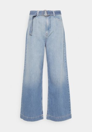 NUCAROLINA - Flared Jeans - kight blue denim