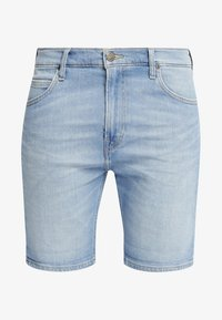 Lee - RIDER - Szorty jeansowe - light blue - 4