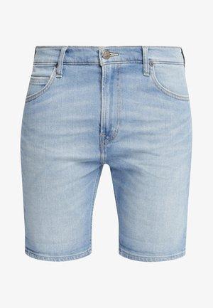 RIDER - Szorty jeansowe - light blue