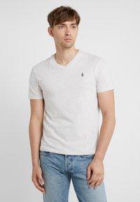 Polo Ralph Lauren - SHORT SLEEVE - T-shirt - bas - american heather - 0
