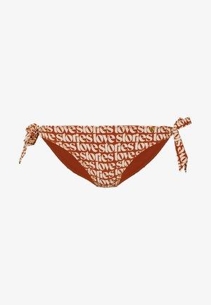 ZOEY - Bikinibroekje - orange/beige