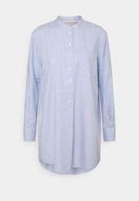 Tory Burch - STRIPE - Shirt dress - blue dusk/white - 3