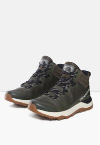 The North Face - W ACTIVIST MID FUTURELIGHT - Hiking shoes - nw taupe grn/aviator navy - 2