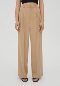PULL&BEAR - Kalhoty - beige - 0