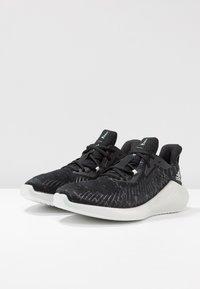 adidas Performance - ALPHABOUNCE+ PARLEY - Neutrální běžecké boty - core black/footwear white - 2