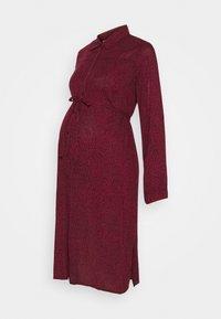 JoJo Maman Bébé - SPOT DRESS - Vestido camisero - wine - 0
