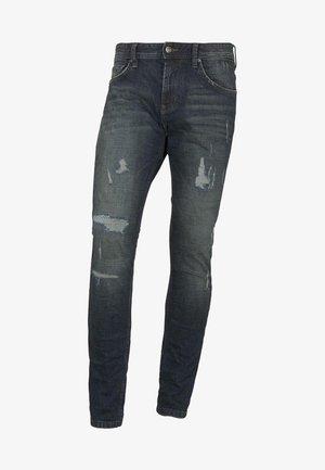 AEDEN - Straight leg jeans - dark stone blue denim
