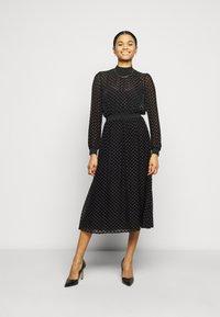 Tory Burch - DEVORE DRESS - Cocktail dress / Party dress - black - 1