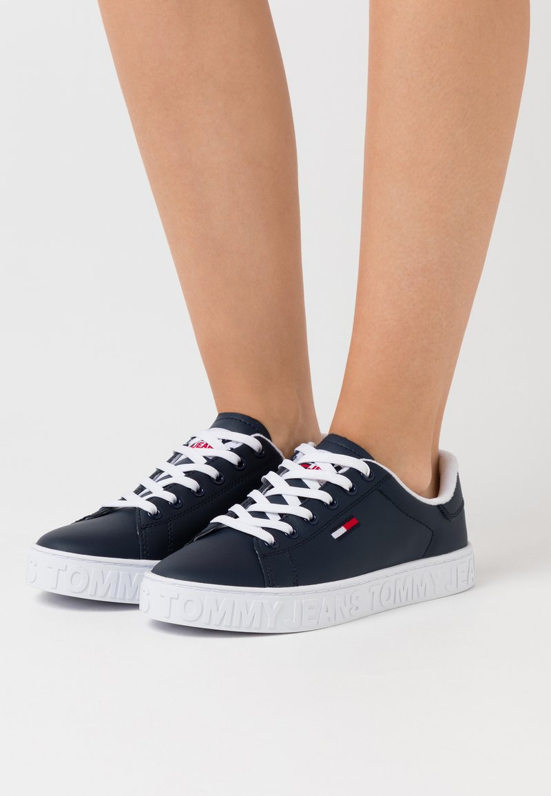Tommy Jeans - COOL CUPSOLE  - Trainers - twilight navy