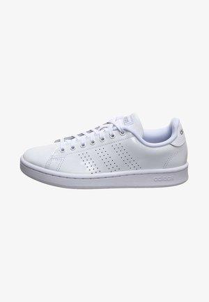 DAMEN - Trainers - footwear white / metallic silver