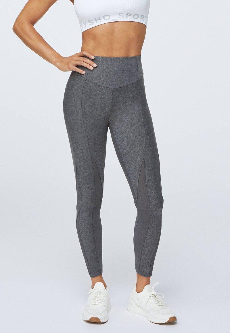 OYSHO_SPORT - Legging - light grey