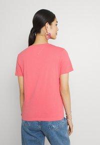 Tommy Jeans - TJW SOFT TEE - T-shirt imprimé - botanical pink - 2
