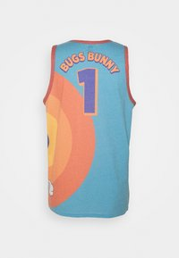Outerstuff - BOXED OUT SPACE JAM 2 TANK - Top - teal/orange - 1