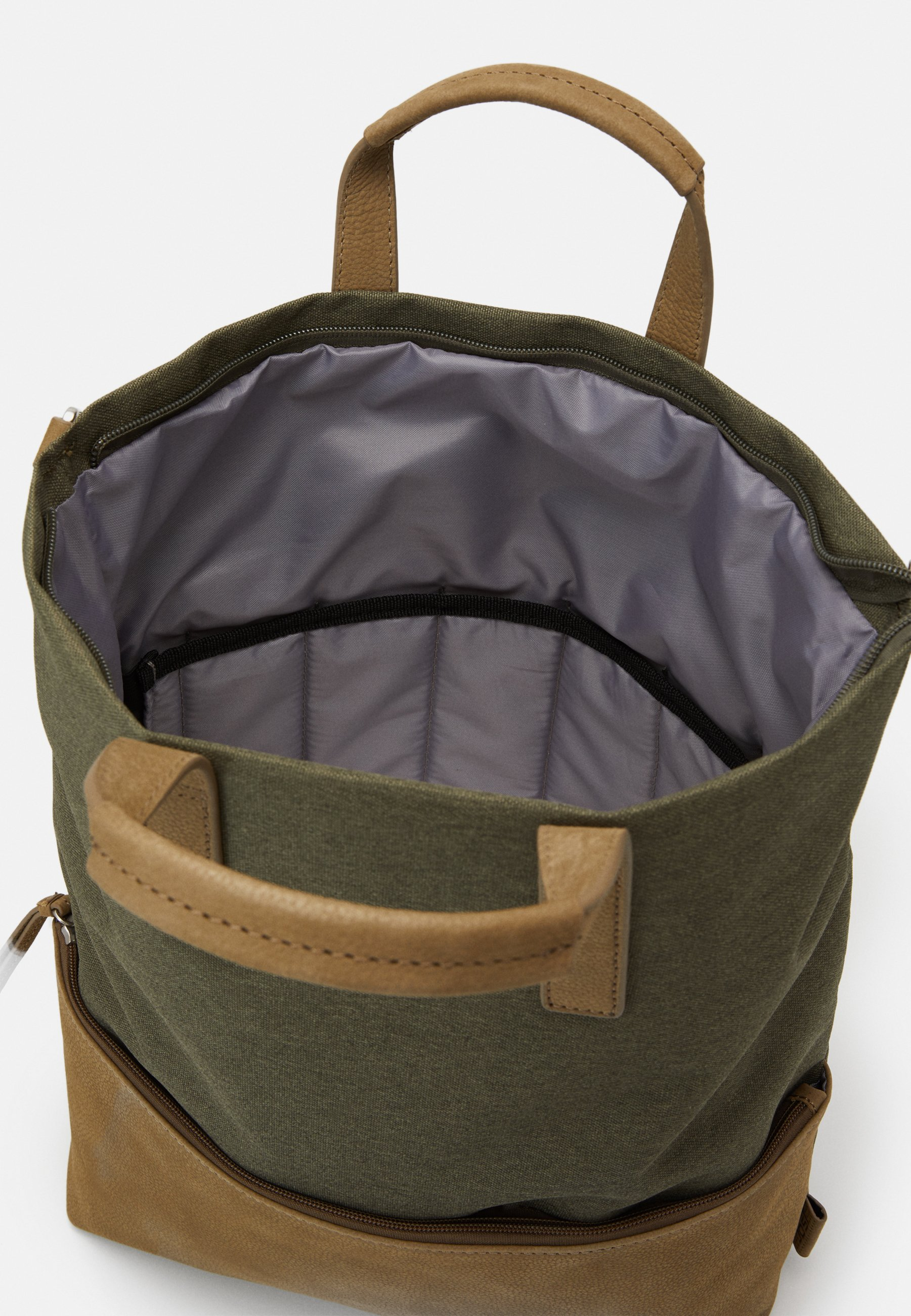 Jost X CHANGE BAG - Skulderveske - olive/oliven mbSlbkFhHpyHtp2