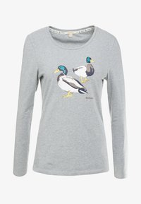 Barbour - BRECON TEE - Long sleeved top - light grey marl - 3
