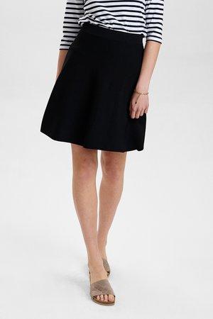 NULLYPILLY SKIRT - Áčková sukně - caviar