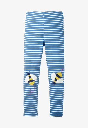 MIT APPLIKATION - Leggings - Trousers - elisabethanisches blau, bienenknie