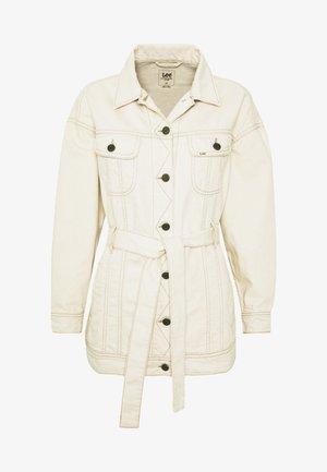 BELTED RIDER JACKET - Short coat - eco rinse