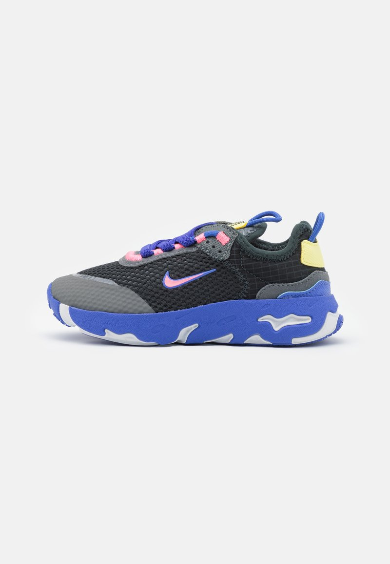 Nike Sportswear - RT LIVE UNISEX - Sneakers basse - dark smoke grey/sunset pulse/smoke grey/sapphire