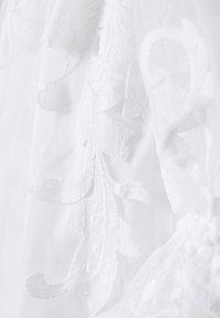 YAS - YASBRIDIE MAXI DRESS - Společenské šaty - star white - 6