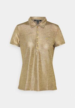 Polo shirt - gold metal