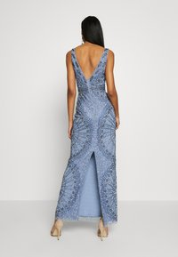 Lace & Beads - NAFISA - Occasion wear - dusty blue - 2