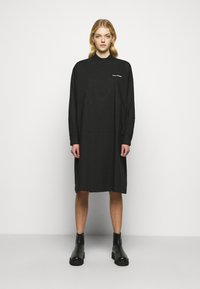 MM6 Maison Margiela - Shirt dress - black - 0