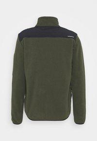 Quiksilver - LOST LATITUDE - Fleece jacket - forest night - 8