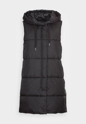 ONLNEWASTA PUFFER WAISTCOAT  - Waistcoat - black/black string