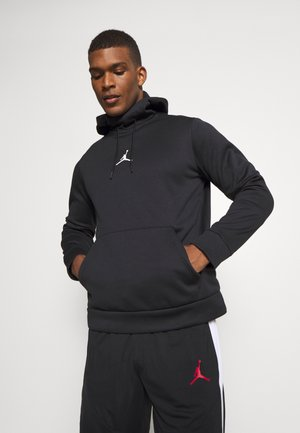 AIR THERMA - Hoodie - black/black/(white)