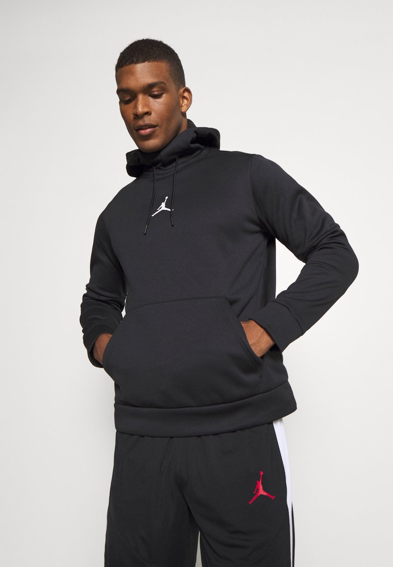 Jordan - AIR THERMA - Hoodie - black/black/(white)