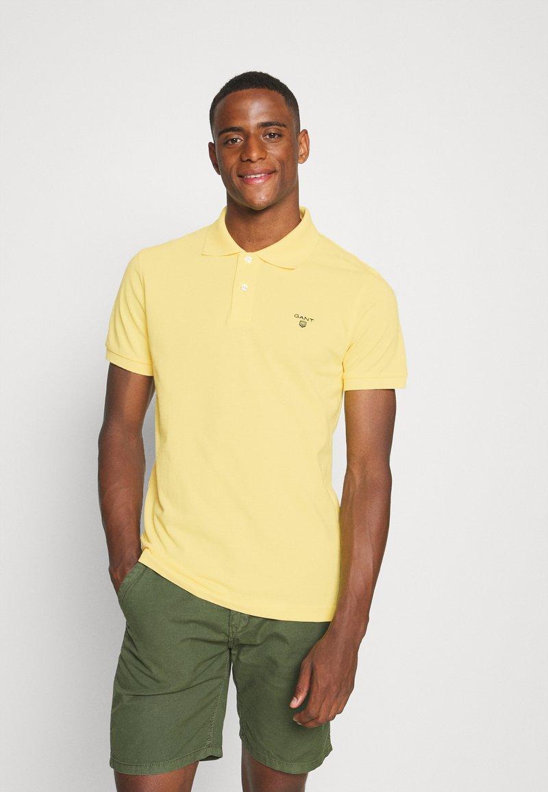 GANT - SUMMER RUGGER - Polo shirt - brimstone yellow