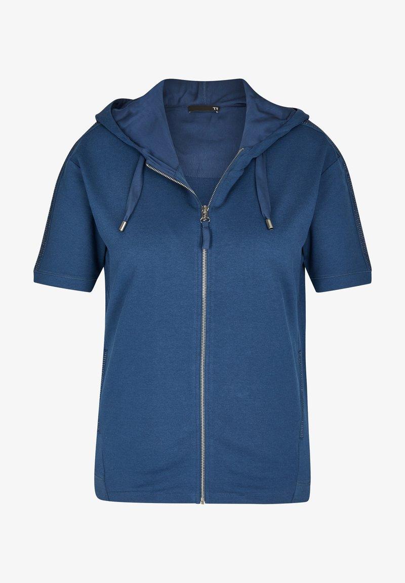 TR - Zip-up sweatshirt - blau